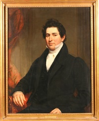 portrait of joseph m. white by samuel lovett waldo