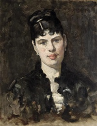 portrait of a woman by william turner dannat