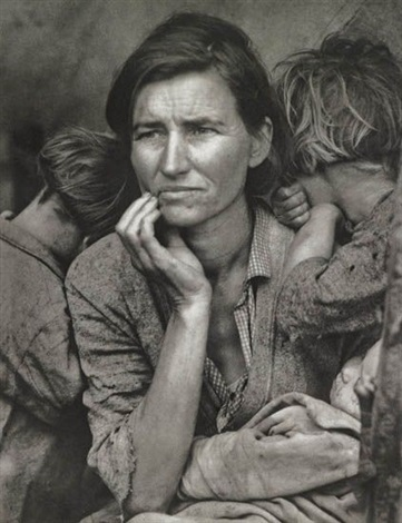 migrant mother nipomo california by dorothea lange
