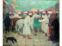 les marchands de chevaux en afrique du nord by simon glatzer