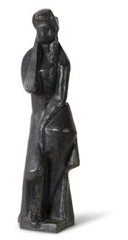 figure habillée - dite aussi figure ou figure de femme debout by joseph csaky