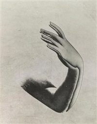solarized arm and hand by pierre boucher