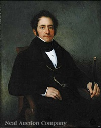 portrait of emile tanneret by jacques guillaume lucien amans
