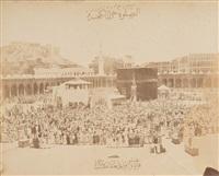 pèlerinage à la mecque, la kaaba by abd al-ghaffer