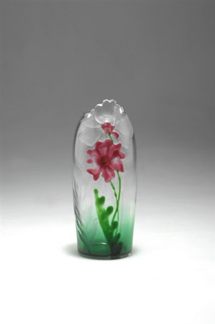 florida vase by gräfliche harrachsche glasfabrik co