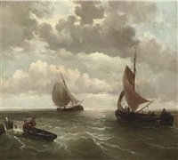 setting out to sea by jacob willem gruyter