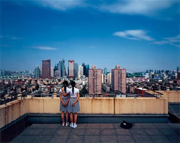 birds eye view shanghai 2 by weng fen weng peijun