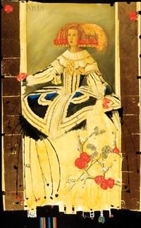 spanish princess (after velazquez) by ton mertens