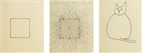 square, tangents & cats (in 3 parts) by mike kelley