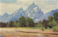 moose - pilgrim creek, wyoming by douglas allen