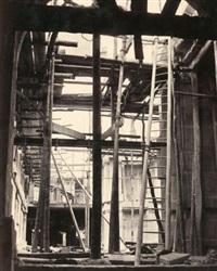vue des escaliers secondaires prise du vestibule by louis emile durandelle