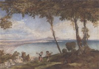 the bay of naples by james vivien de fleury