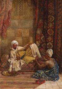 orientalische szene by heinrich maria staackmann