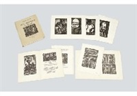 reincarnations du pere ubu (portfolio of 87 works) by georges rouault