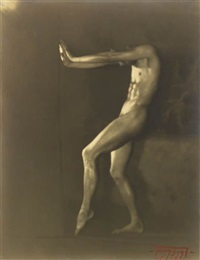 nude model by edwin f. townsend
