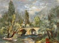 le pont de moret sur loing by sempere