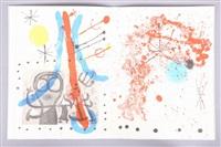 peintures sur carton by joan miró