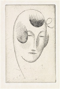 woman's head by elie nadelman