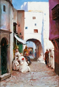 dans la casbah d'alger by william lambrecht