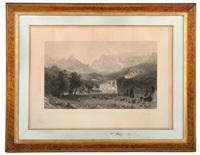 rocky mountain encampment scene by albert bierstadt