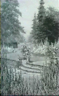 the garden steps by edith alice andrews
