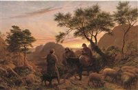 the flight into egypt by james thomas linnell