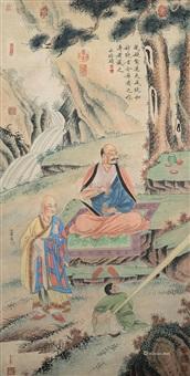 明 罗汉图 by qiu ying