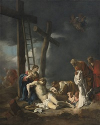 the deposition from the cross by sébastien bourdon