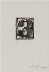 3 (universal limited art edition 159) by jasper johns