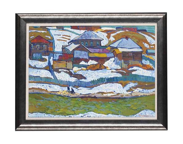 melting snow by yuri vladimirovich matushevski