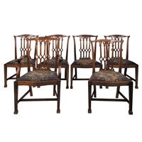 dining chairs (set of 8) by waring & gillow