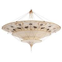 three-tier scheherazade chandelier by fortuny