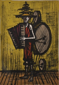 l'homme orchestre by bernard buffet