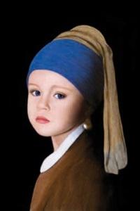 la jeune fille à la perle by vlada krassilnikova