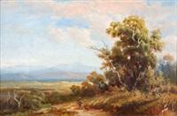 landscape by george alfred john webb