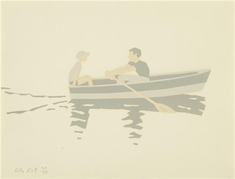 rowboat by alex katz