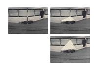 drei figurationszeichen drei körperkonfigurationen (three characters figuration three bodies configuration) (in 3 parts) by valie export