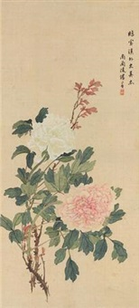 富贵长乐图 by tang shishu
