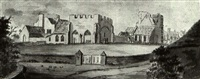 a folio of watercolours of views of kent by francis (capt.) grosse