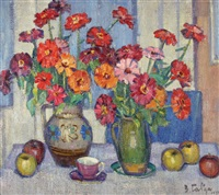 flowers by vasily georgievich gabda