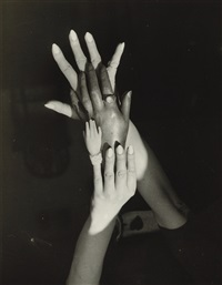 untitled, surrealist hands by claude cahun