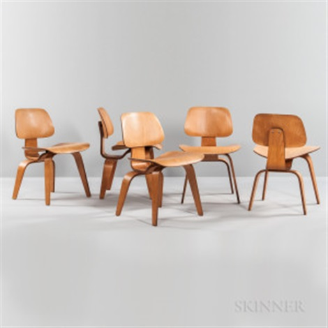 Superb Five Ray And Charles Eames For Herman Miller Lounge Chair Uwap Interior Chair Design Uwaporg