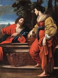 christus und die samariterin am brunnen by sisto badalocchio