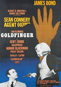 goldfinger, james bond by gosta aberg