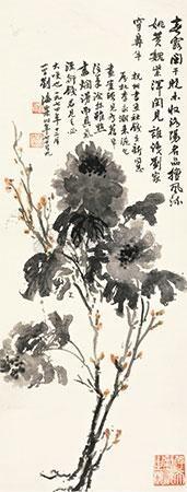 牡丹 (the peony) by liu haisu
