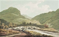 view from tan y bwlch to ffestiniog, gywnedd, north wales by john warwick smith