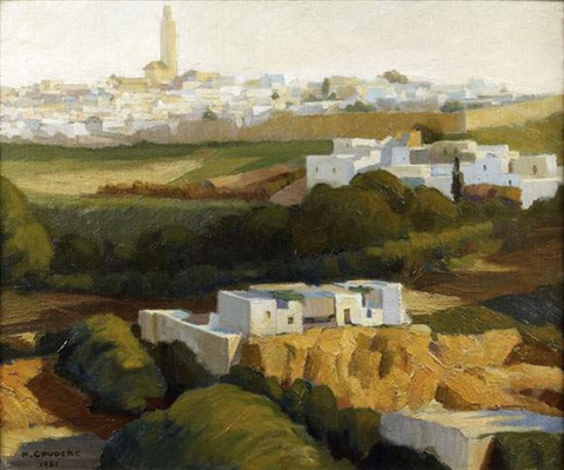 vue de meknes maroc by marcel couderc