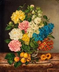 virágcsendélet by anton fidler