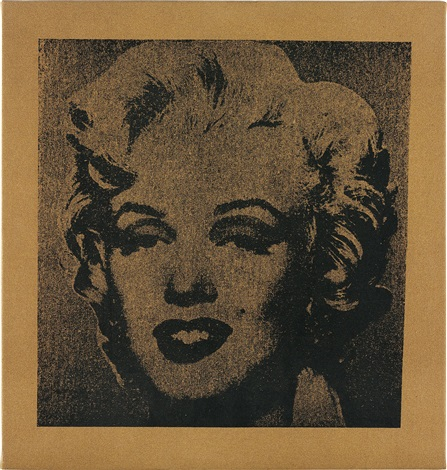 not warhol marilyn by mike bidlo