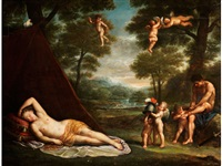 venus in der landschaft by anonymous-italian-bolognese (17)